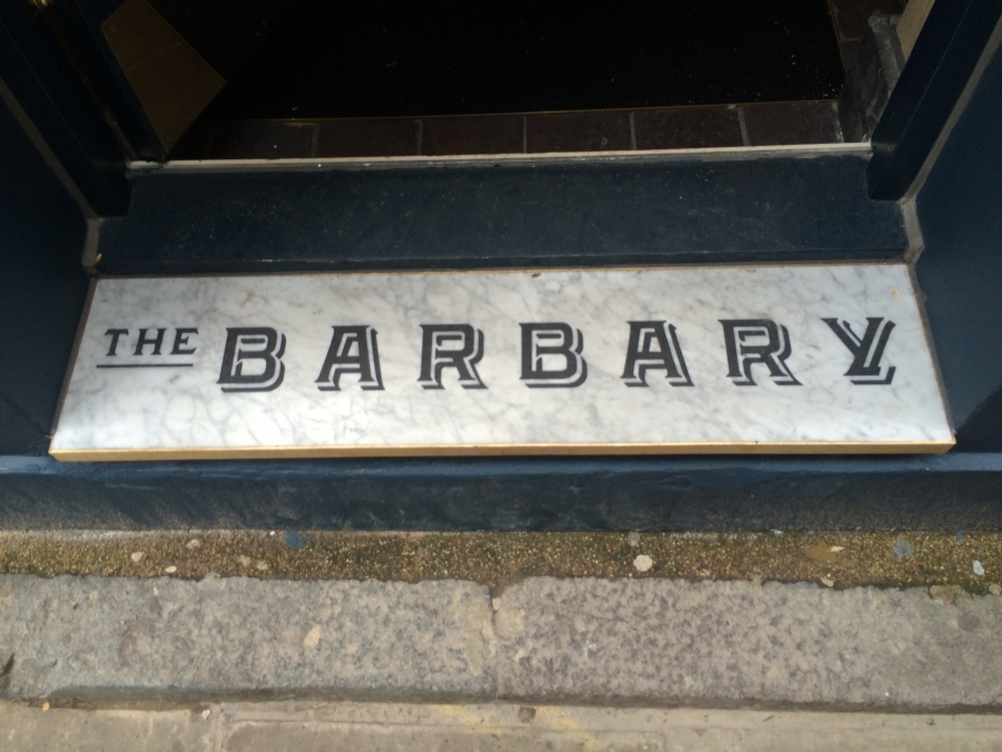 "The Barbary – ""a whole front of house experience!"""